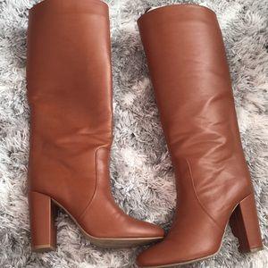 Express Brown heel boots